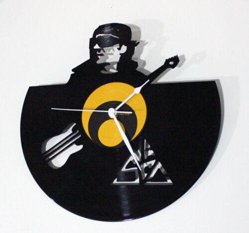 Orologio da parete da muro design disco in vinile artigianale tipo Vasco unico