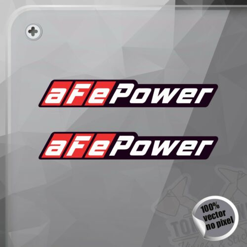 PEGATINA AFE POWER HORIZONTAL DECAL VINYL STICKER AUTOCOLLANT