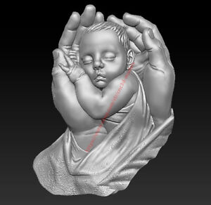 3D Model for CNC Router STL File Artcam Aspire Vcarve Wood Carving IS789