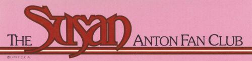 SUSAN ANTON POSTER//PORTFOLIO FAN CLUB OF AMERICA 13 PCS IN FOLDER   LC7 C
