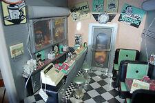 """RARE American Girl Doll Mini """" Lil's Diner """" Mini Illuma  RARE FIND"""