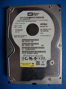 WD2500JS TREIBER WINDOWS XP