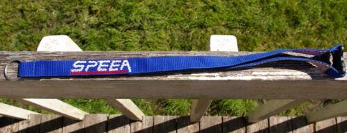 Boeing SPEEA Aerospace Local 2001 Union Blue Lanyard Keyring Keycard Clip Strap