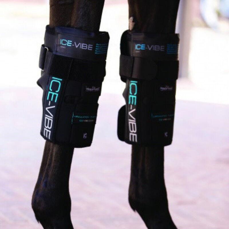 ICE VIBE Knee Stiefel, Stiefel, Knee Horseware Ice Vibe Karpalgelenkschoner, Kühlen/ Therapie 600cd9