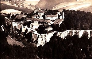 Saechsische-Schweiz-Festung-Koenigstein-Ansichtskarte