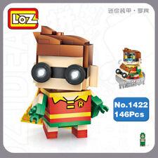 Baukästen & Konstruktion LOZ DC Super Hero Superman Clark Kent Mini DIY Building Diamond Nano Blocks Toy