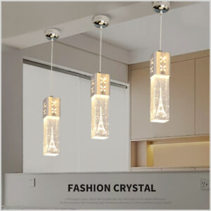 Led Crystal Ceiling Lamp Kitchen Island