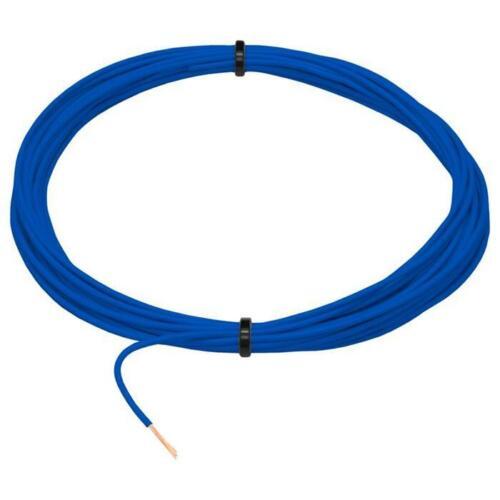 5m FLRY Fahrzeugleitung Blau 0,5mm² rund Kabel Litze KFZ Stromkabel