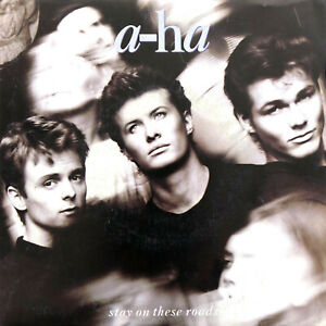 "a-ha ‎7"" Stay On These Roads - France (VG+/EX+)"