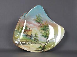 Italian-Casini-Ceramics-Design-Years-039-50-Dish-Wall-Hand-Painted