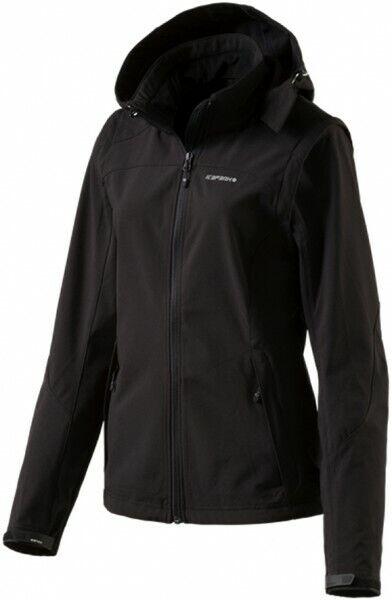Icepeak señora elásticos elastano outdoor Softshell chaqueta chaleco leonie negro nuevo