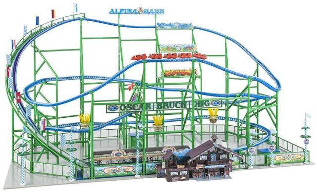 FALLER 140410 Gauge H0 Roller Coaster Alpina-Bahn # New Original Packaging ##