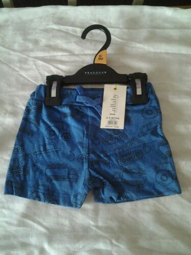 TODDLER BOYS AND GIRLS 0-24 MONTHS COTTON SHORTS