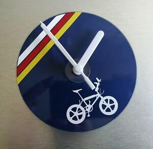 Lightweight-Raleigh-team-aero-pro-burner-BMX-stunt-bike-wall-CD-clock-120mm
