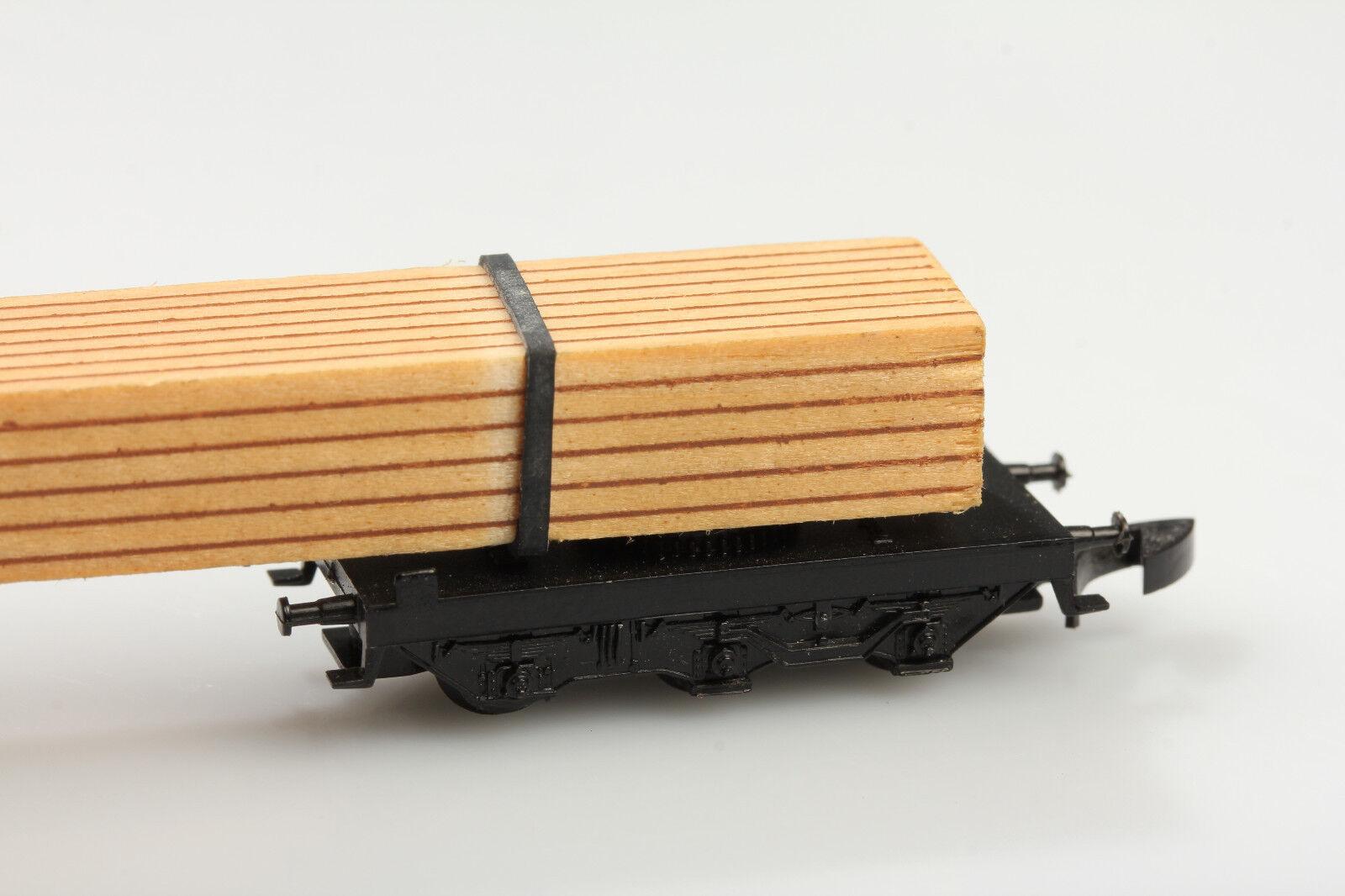 Märklin Z 8619 Lang Lang Lang carro de madera drehschemel suciedad rasguños deficiencias con embalaje original 418c51