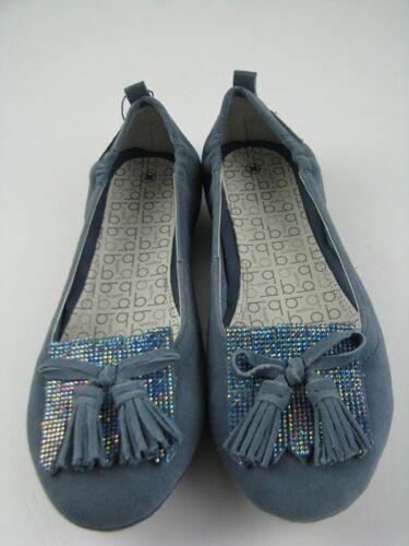 39 Bugatti Damen J0678-3G-455 Ballerina Mittelblau Gr