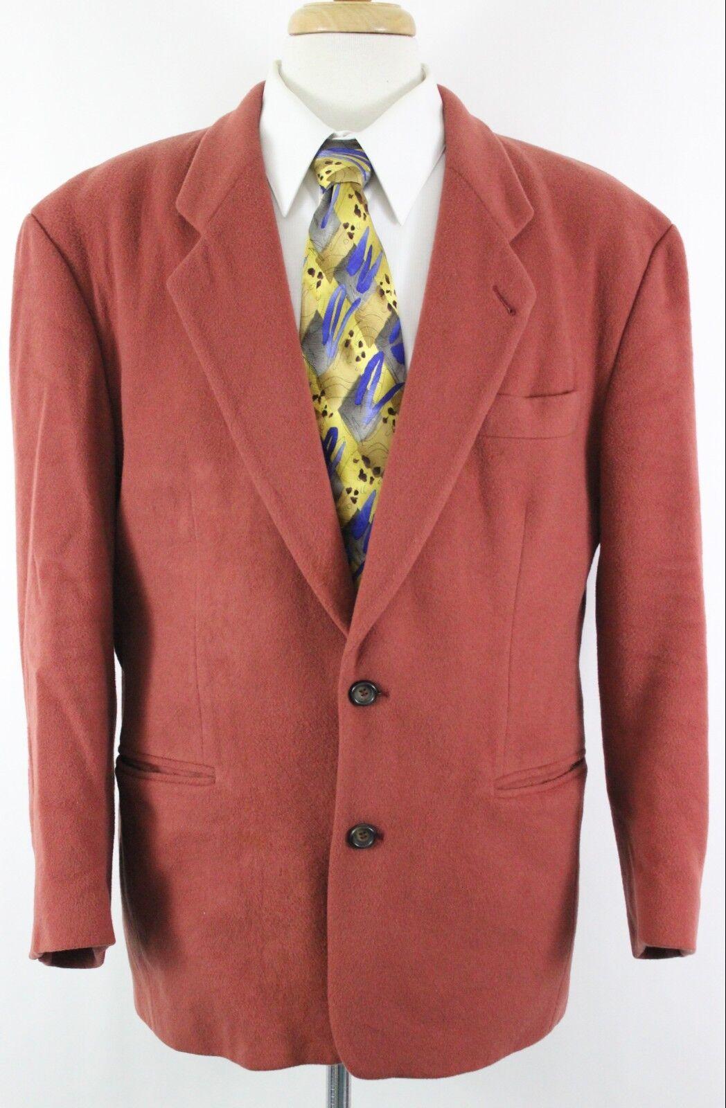 Hugo Boss Twenty Men's 2 Button Sport Coat R USA 40R Wool Cashmere