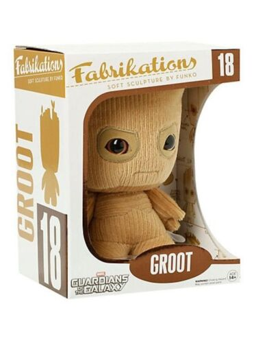 "Funko GUARDIANS OF THE GALAXY Groot 7/"" Fabrikations Plush #NEW"