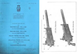Details about Browning 1965 M1919 L3A3 & L3A4 Illus  Parts List (UK)- Manual