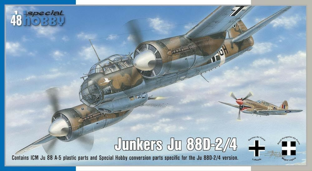 Special Hobby 1 48 Junkers Ju88 D-2 4