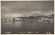 ARGENTINA TIERRA DEL FUEGO CANAL BEAGLE PAISAJE FOT. KOHLMANN REAL PHOTO 895