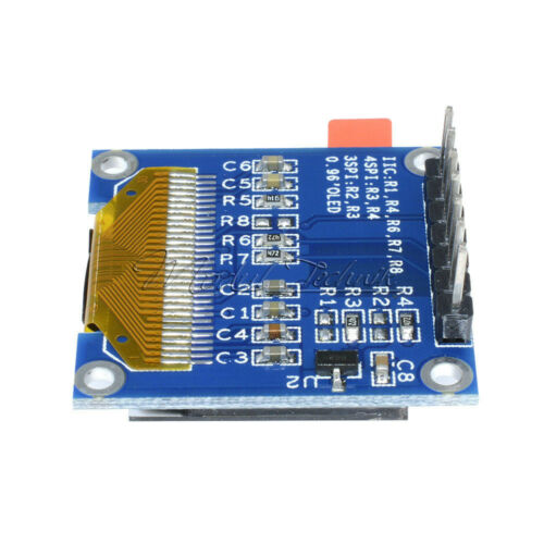 """Blue 0.96/"""" I2C SPI Serial 128X64 OLED LCD Display SSD1306 for Arduino 51 STM32"""