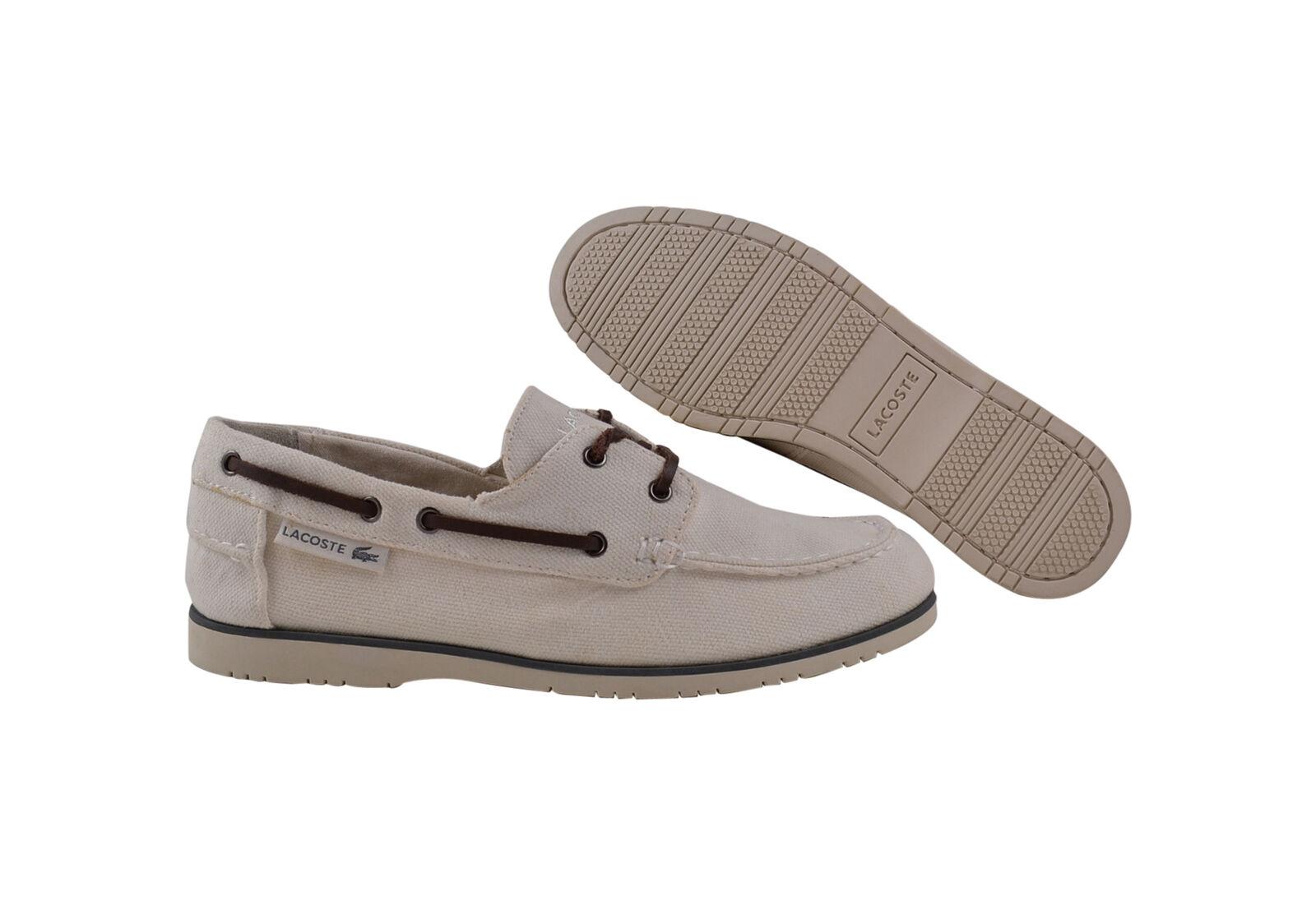 Lacoste Carbon 6 SRM off white Premium Sneaker/Schuhe weiß