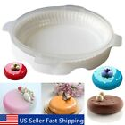 Silicone Round Fondant Cake Mold Chocolate Mousses Ice Cream Baking Pan Tool Set