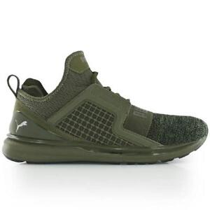 Details about Puma Ignite Limitless Knit Men's Fashion Sneaker Olive Green 189987 03 New