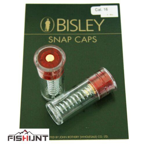 Bisley Snap Caps plastique 12 G 16 G 20 G .410 Pistolet D/'Entretien Fusil pratique 2pcs