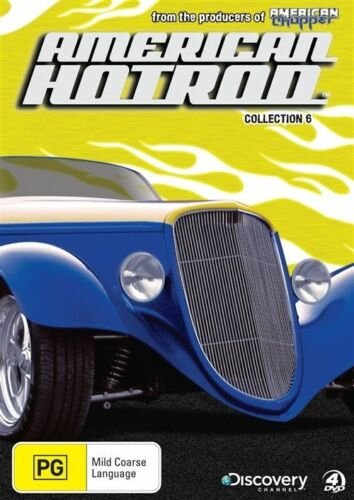 1 of 1 - American Hot Rod : Collection 6 (DVD, 2010, 4-Disc Set)-REGION 4--Free postage
