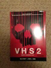 Vhs 2 V/h/s 2 Blu Ray Dvd Vhs Boxset Combo Rare Oop Horror Gore