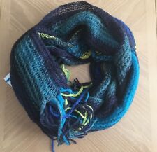 (NWT) Made of Me Women's Multi-Colored Oblong Oversized Scarf One Size