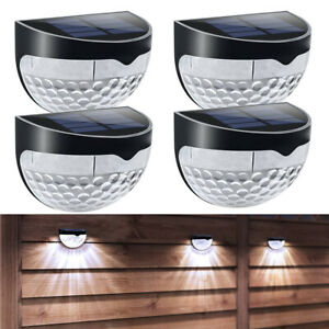 2-4-6-8-Solar-LED-Deck-Stair-Light-Outdoor-Garden-Landscape-Wall-Fence-Yard-Lamp