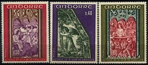 Andorra-French-1970-SG-F225-7-Alter-Screen-MNH-Set-D71769