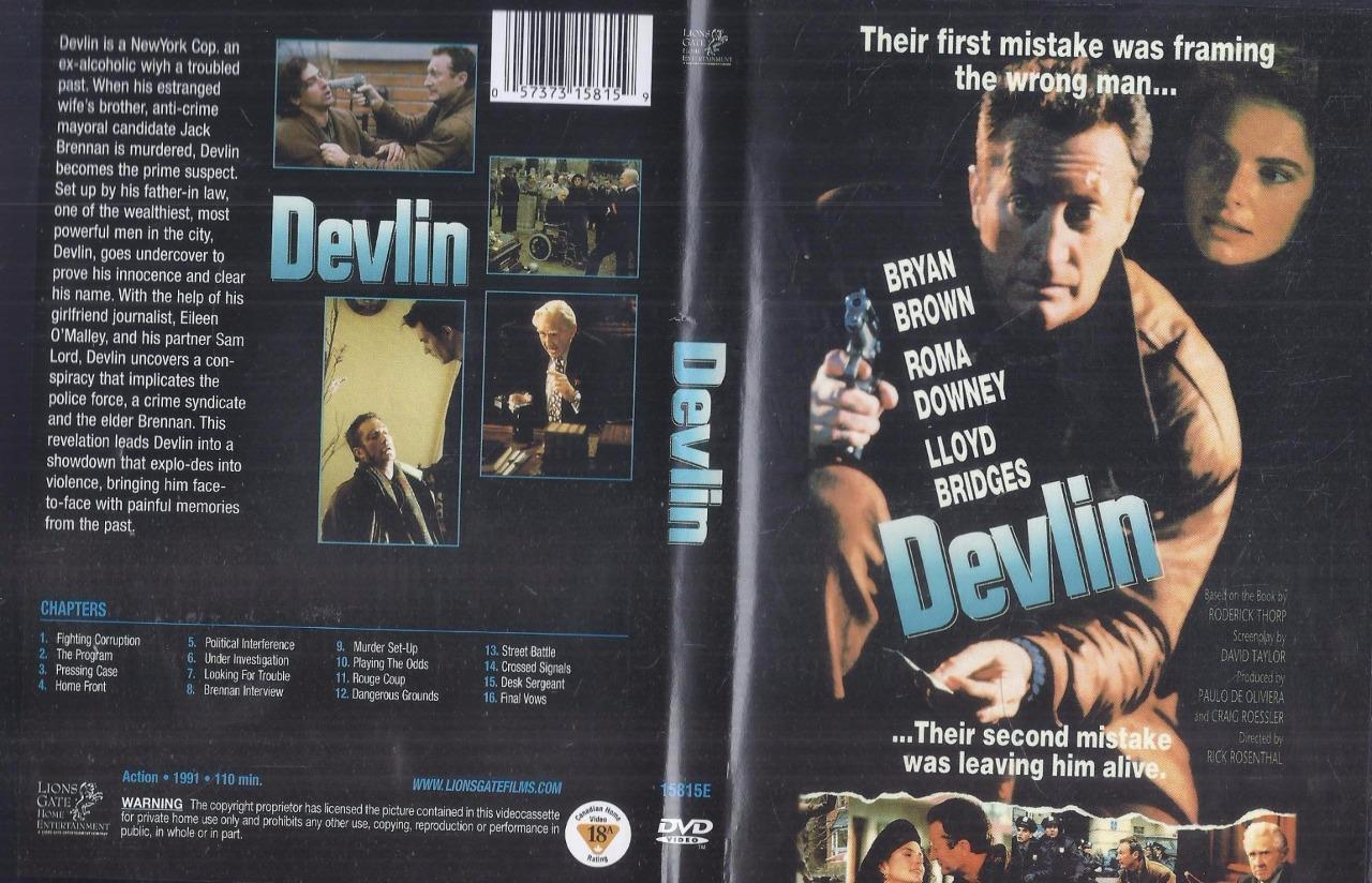 Devlin 1991 Dvd Bryan Brown Roma Downey Lloyd Bridges Ebay