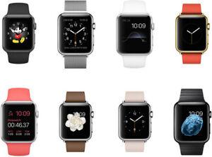 Apple Watch Series 1 - 38mm/42mm - Boîtier en acier inoxydable-Mix Grade