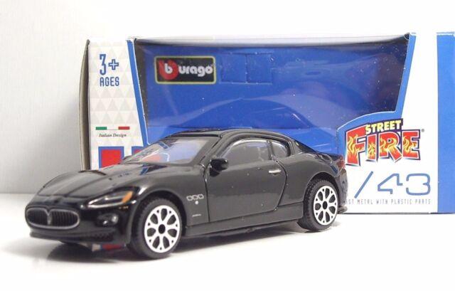 "Bburago 30010 MASERATI Gran Turismo ""Black"" - METAL Scala 1:43"