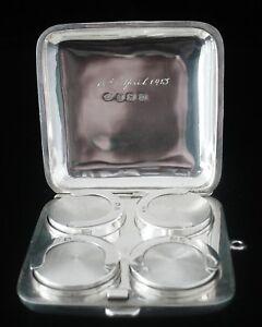 Four-Compartment-Silver-Sovereign-Case-Birmingham-1911-Robert-Chandler