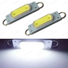 2 x Xenon White 44mm COB Rigid Loop Festoon LED Light Bulb 561 562 567 564 212-2