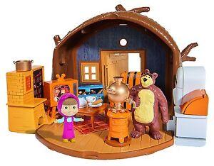Masha Et Le Ours La Maison Bearhouse Jouet TV Enfant Fille Pliable Simba