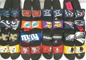 09ef5e92aee Men s NFL Cropped Big Logo Slide Shoes Sandals FOCO Forever ...