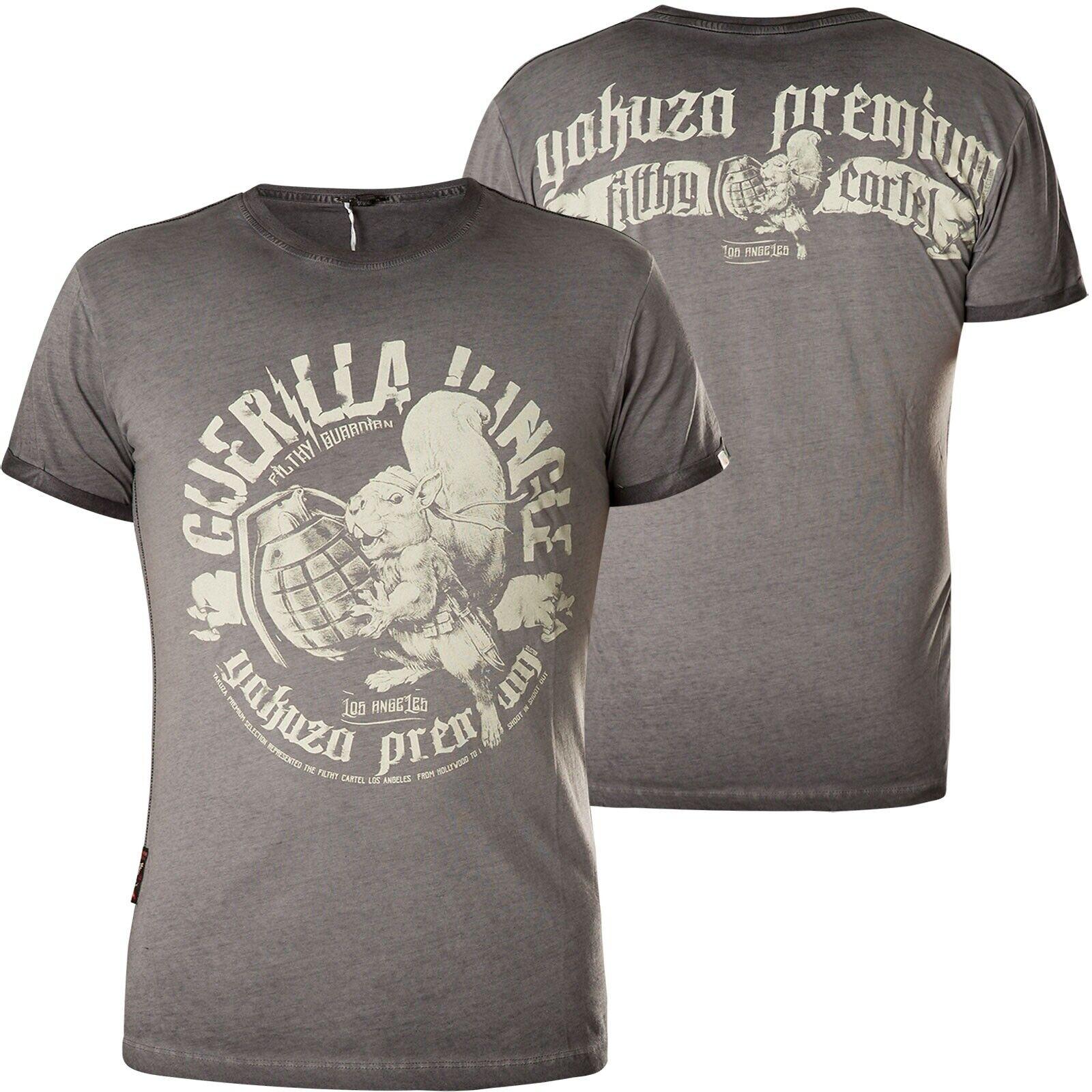 1b855d4fc Yakuza Premium T-Shirt 400 Dark grey Vintage nptixk3144-T-Shirts ...