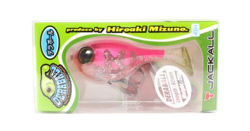 Jackall Deraball Soft Plastic Versenkung Köder 26 Gramm Pink Back Clear 0828