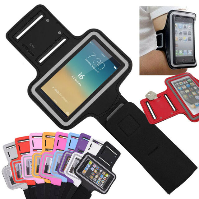 "Lot Sport Gym Running Jogging Workout Adjustable Armband Case For 4.7"" iPhone 6"