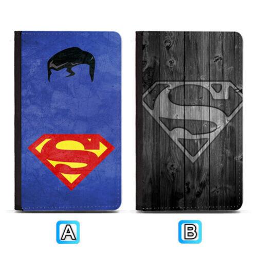 Superman Superhero Passport Holder PU Leather Cover Travel Wallet ID Cards