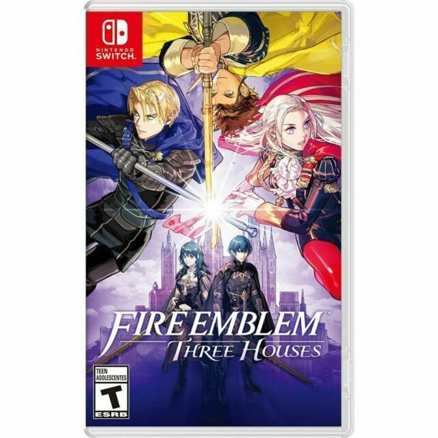 Fire Emblem Three Houses Standard Edition Nintendo Switch Brand New Sealed