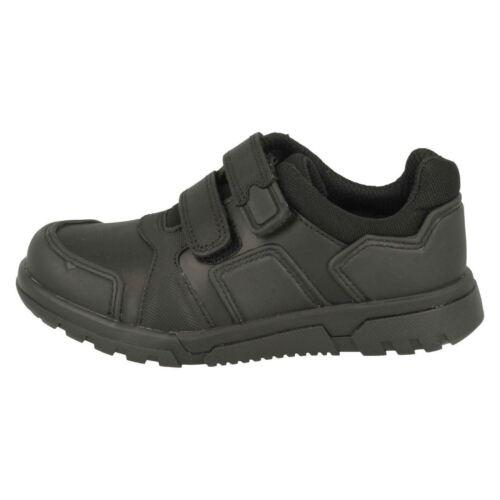 Hook escuela Black Zapatos de niños Clarks Street para Blake Loop fZftqn
