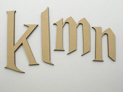 10cm Large MDF Wooden Letter Words Wood Alphabet Name Har