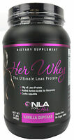 Nla For Her Whey Lean Muscle Protein (vanilla Cupcake 2 Lbs) Gluten Free on sale